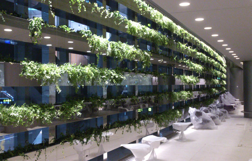 Green Walls - vista frontale